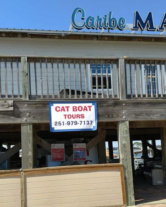 Orange Beach Cat Boat Tours Location